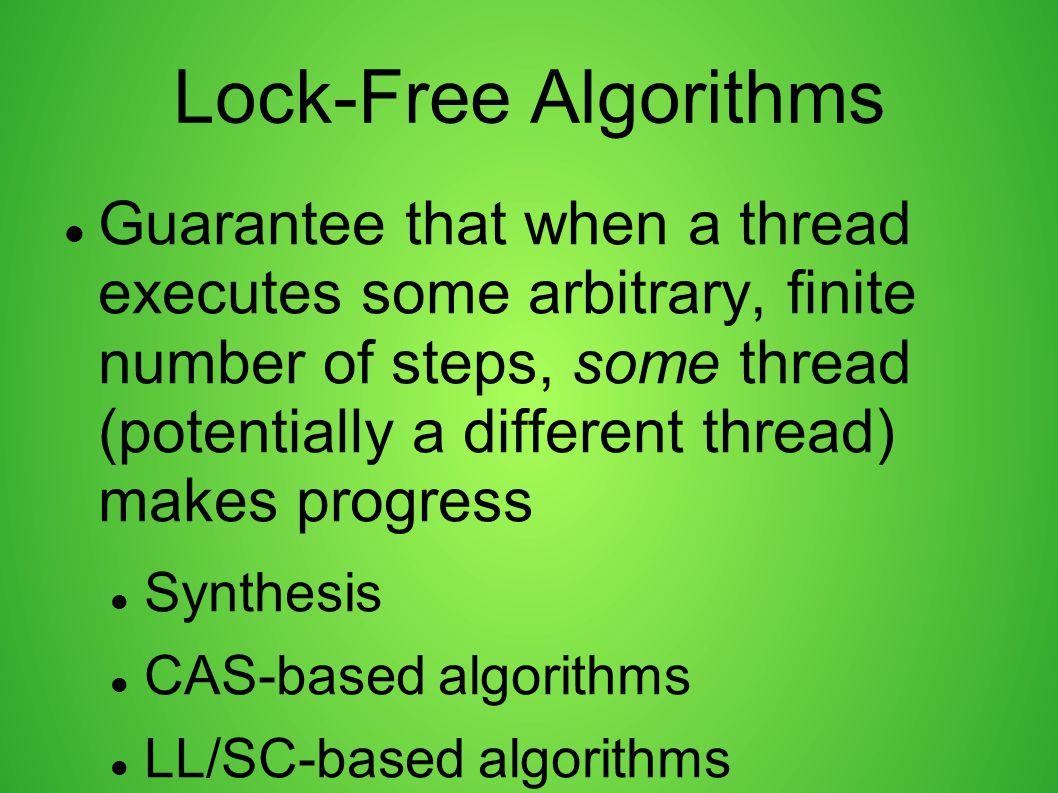Lock-Free Algorithms