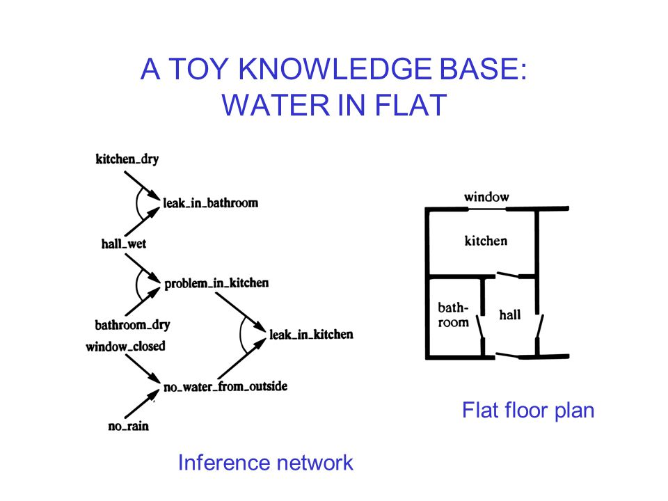 A TOY KNOWLEDGE BASE: WATER IN FLAT