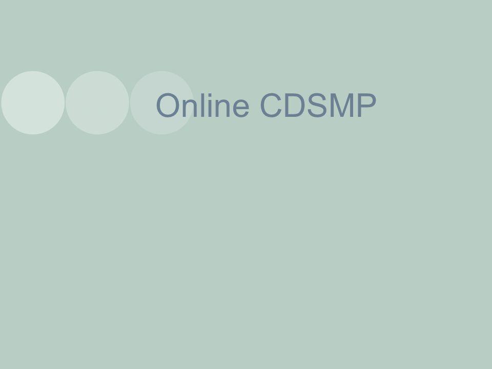 Online CDSMP