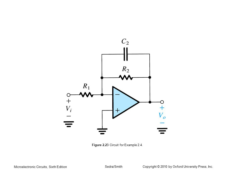 Figure 2.23 Circuit for Example 2.4.