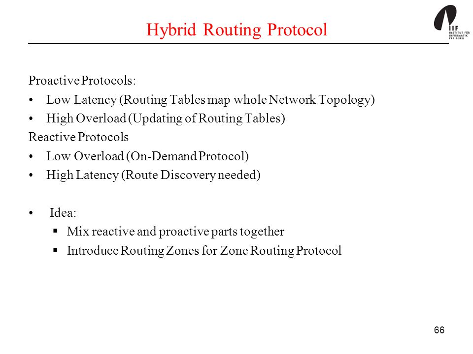 Hybrid Routing Protocol