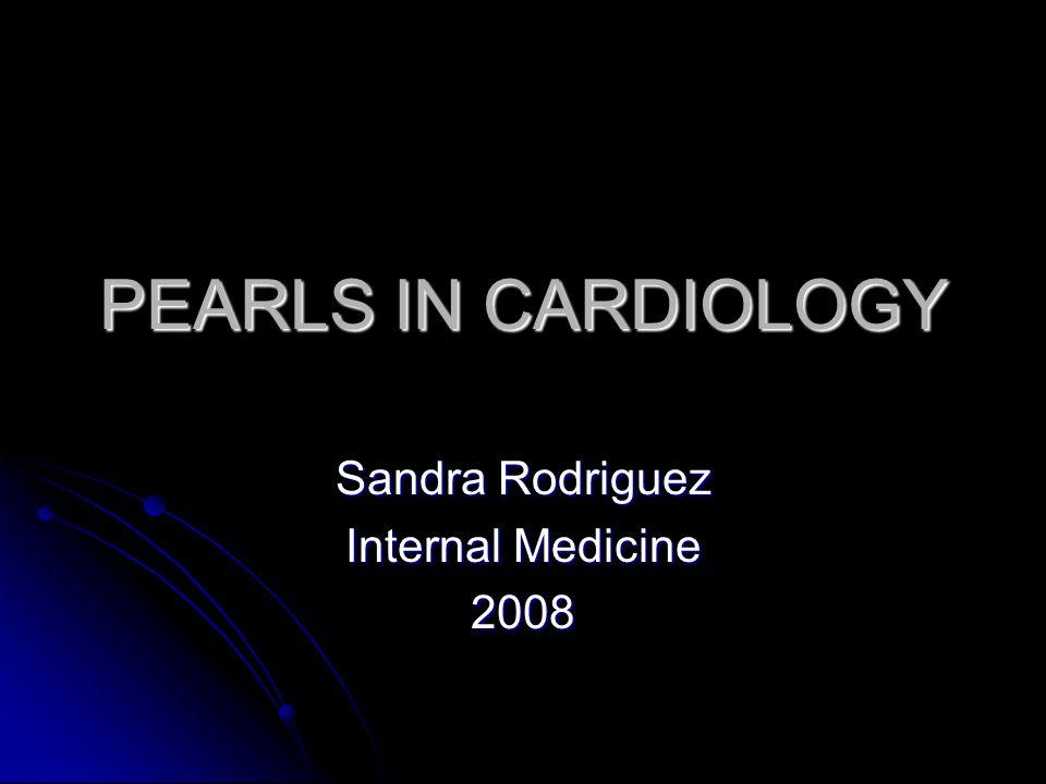 Sandra Rodriguez Internal Medicine 2008