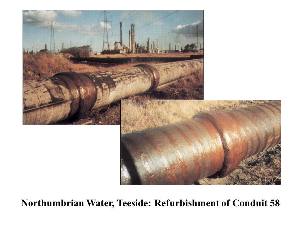 Northumbrian Water, Teeside: Refurbishment of Conduit 58