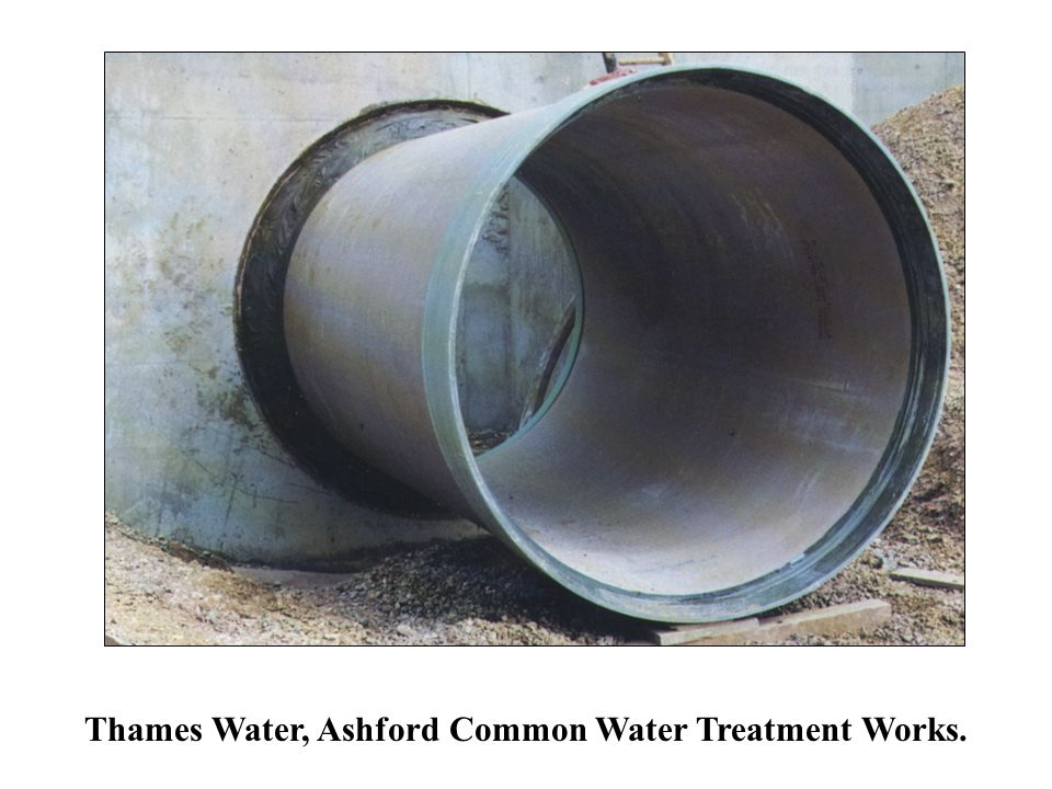 Thames Water, Ashford Common Water Treatment Works.