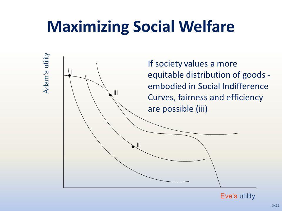 Maximizing Social Welfare