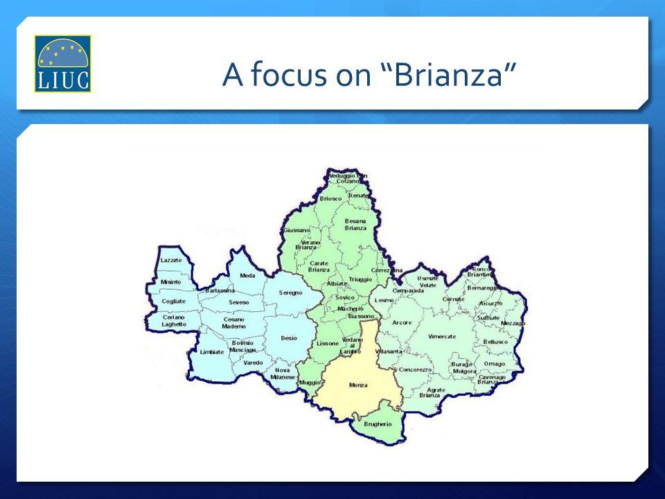 A focus on Brianza