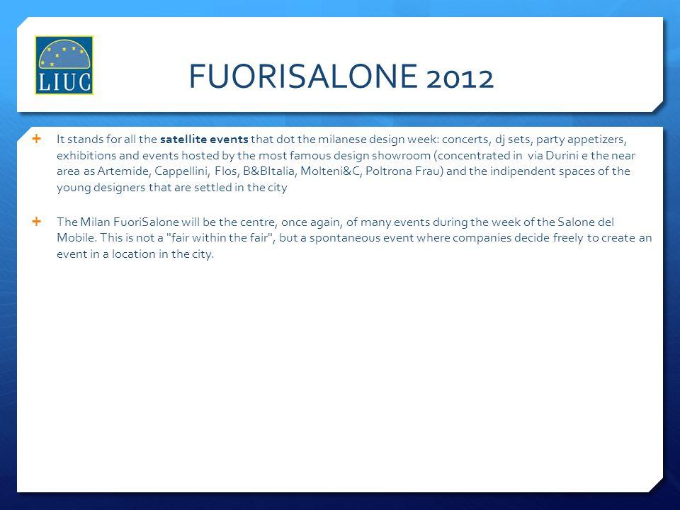 FUORISALONE 2012