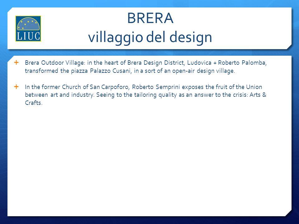 BRERA villaggio del design