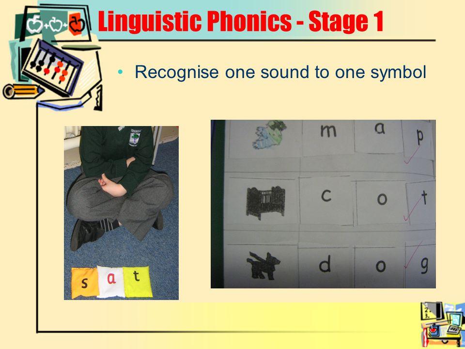 Linguistic Phonics - Stage 1