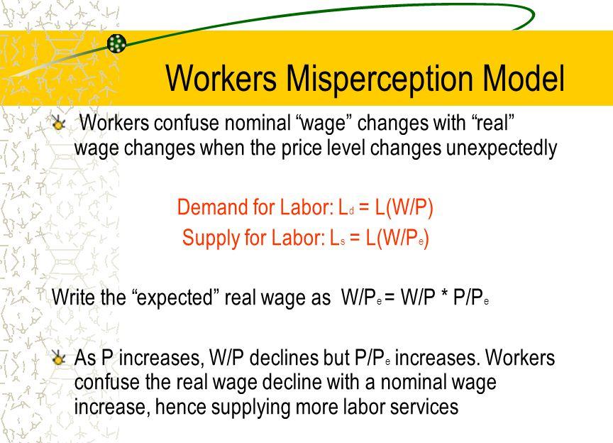 Workers Misperception Model