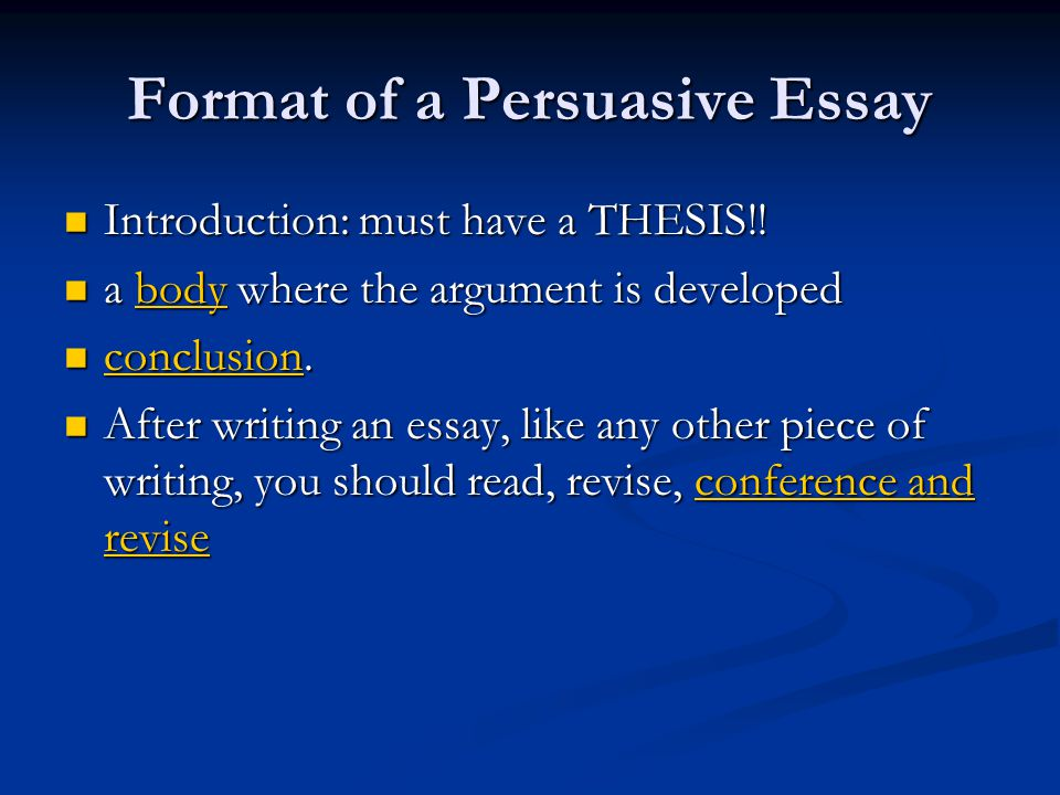 introductions in essays persuasive