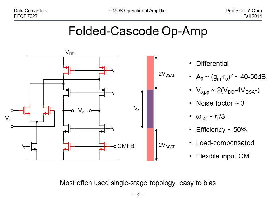 Folded-Cascode Op-Amp