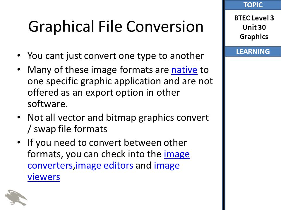 Graphical File Conversion