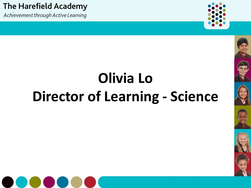 Olivia Lo Director of Learning - Science