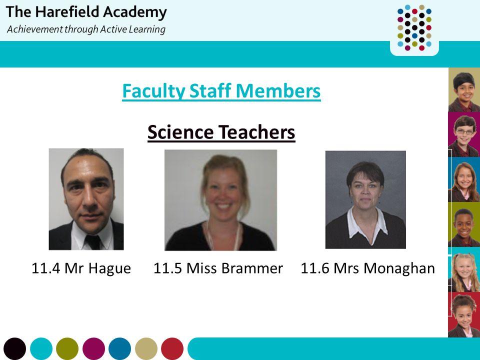 Faculty Staff Members Science Teachers