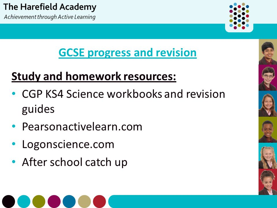 GCSE progress and revision