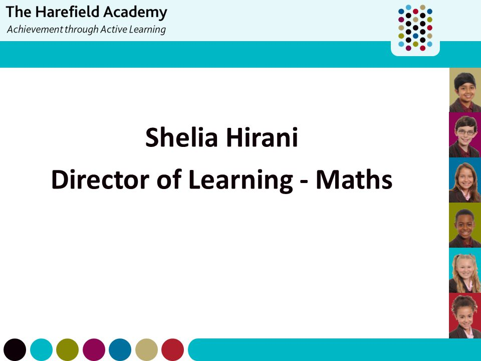 Director of Learning - Maths