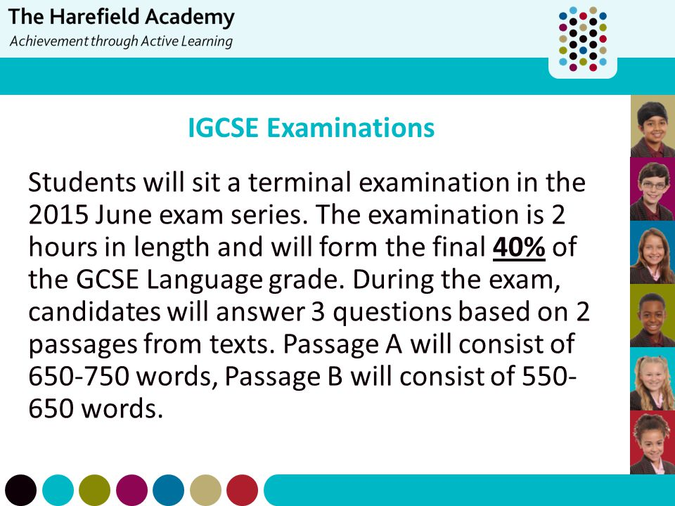 IGCSE Examinations