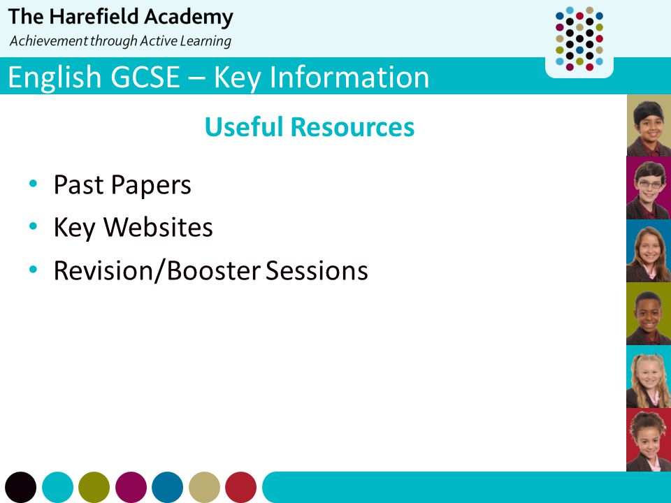 English GCSE – Key Information