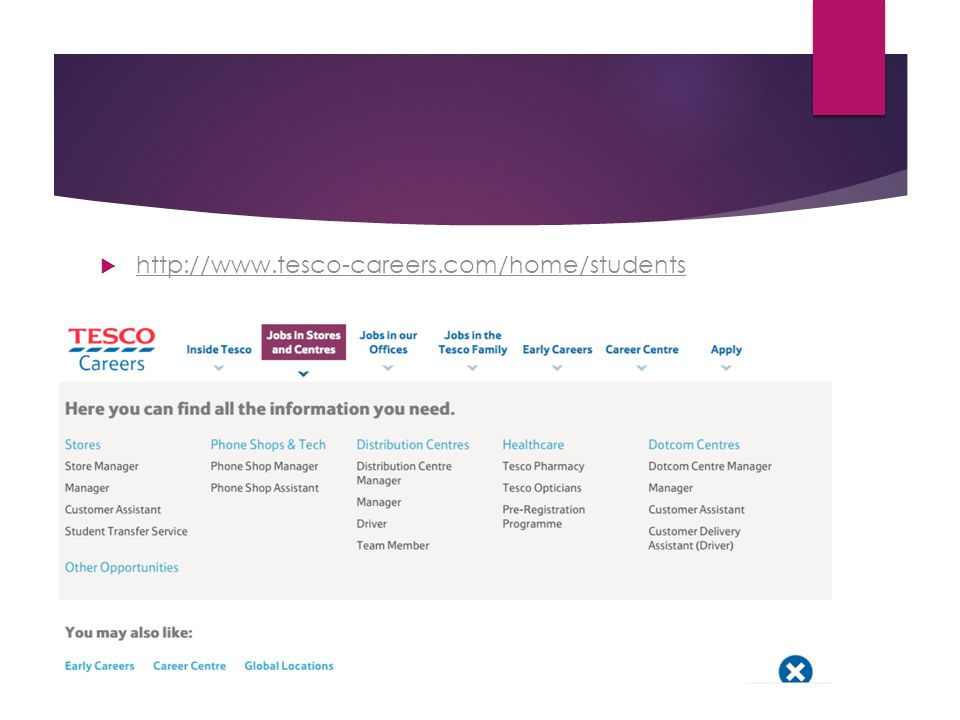 http://www.tesco-careers.com/home/students