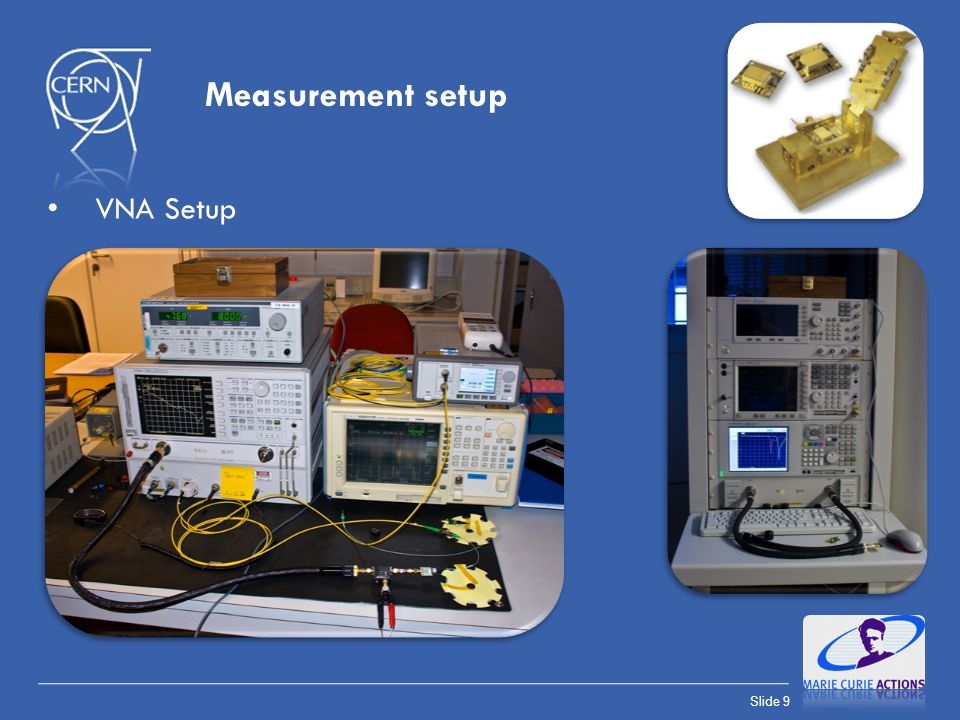 Measurement setup VNA Setup