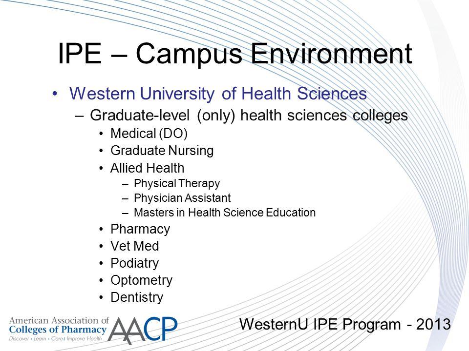 IPE – Campus Environment