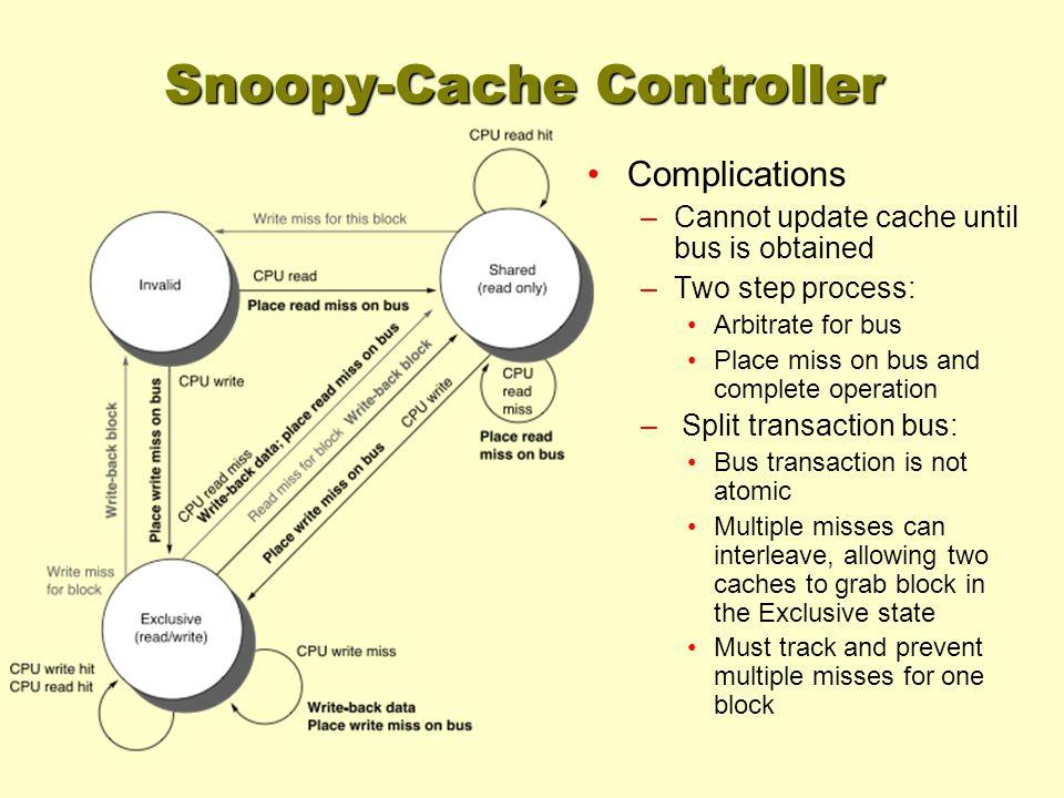 Snoopy-Cache Controller