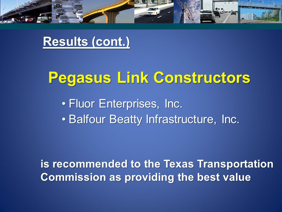 Pegasus Link Constructors