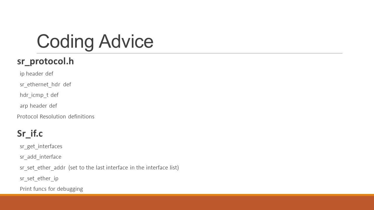 Coding Advice sr_protocol.h ip header def sr_ethernet_hdr def