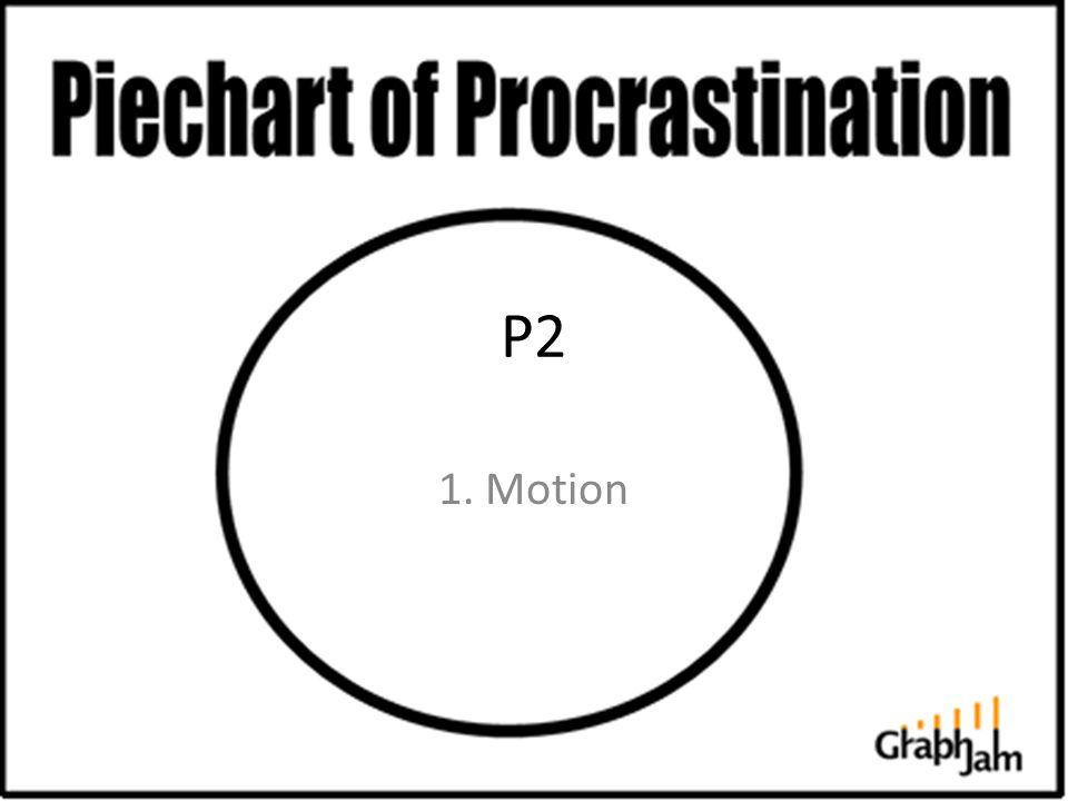 P2 1. Motion