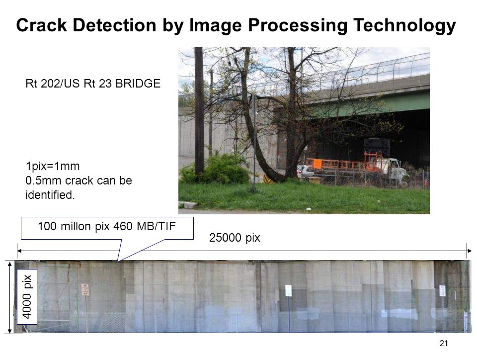 Crack Detection by Image Processing Technology