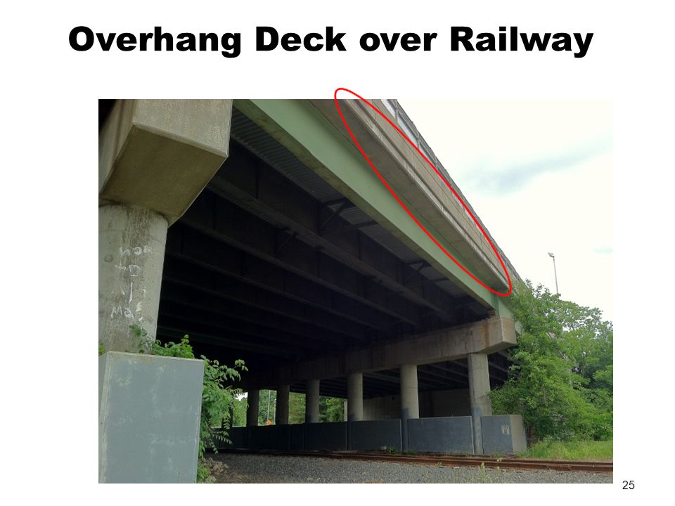 Overhang Deck over Railway