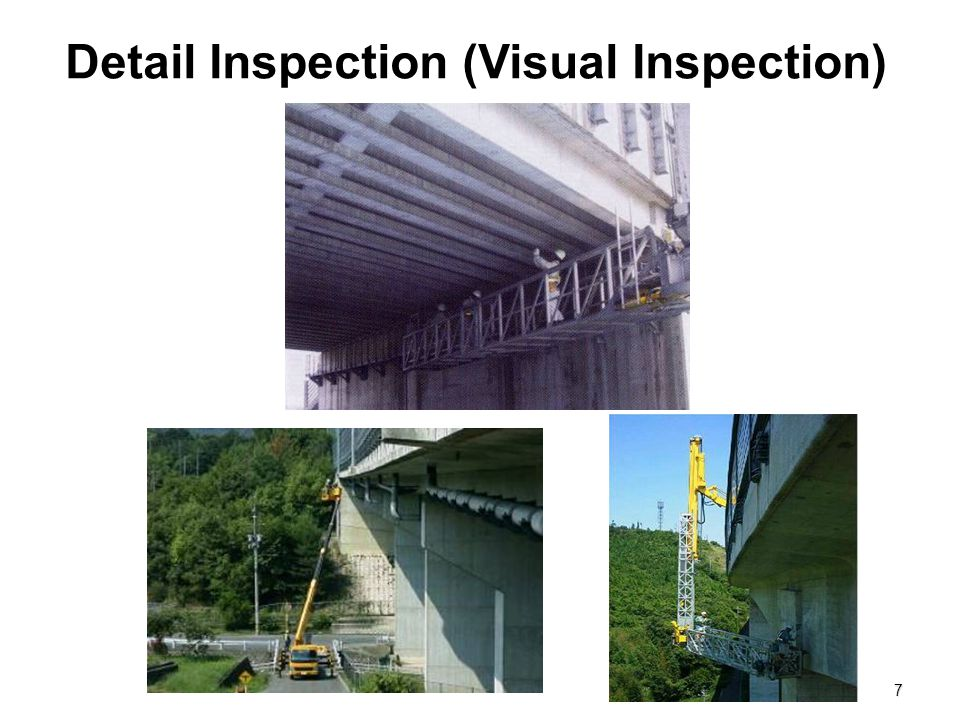 Detail Inspection (Visual Inspection)