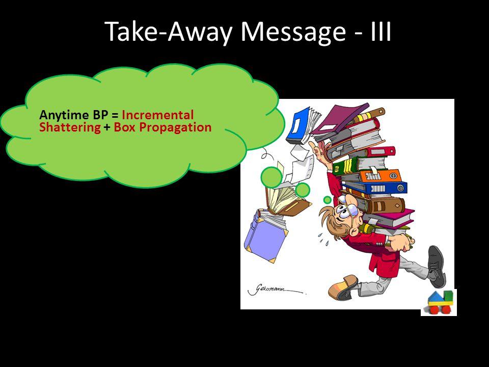 Take-Away Message - III