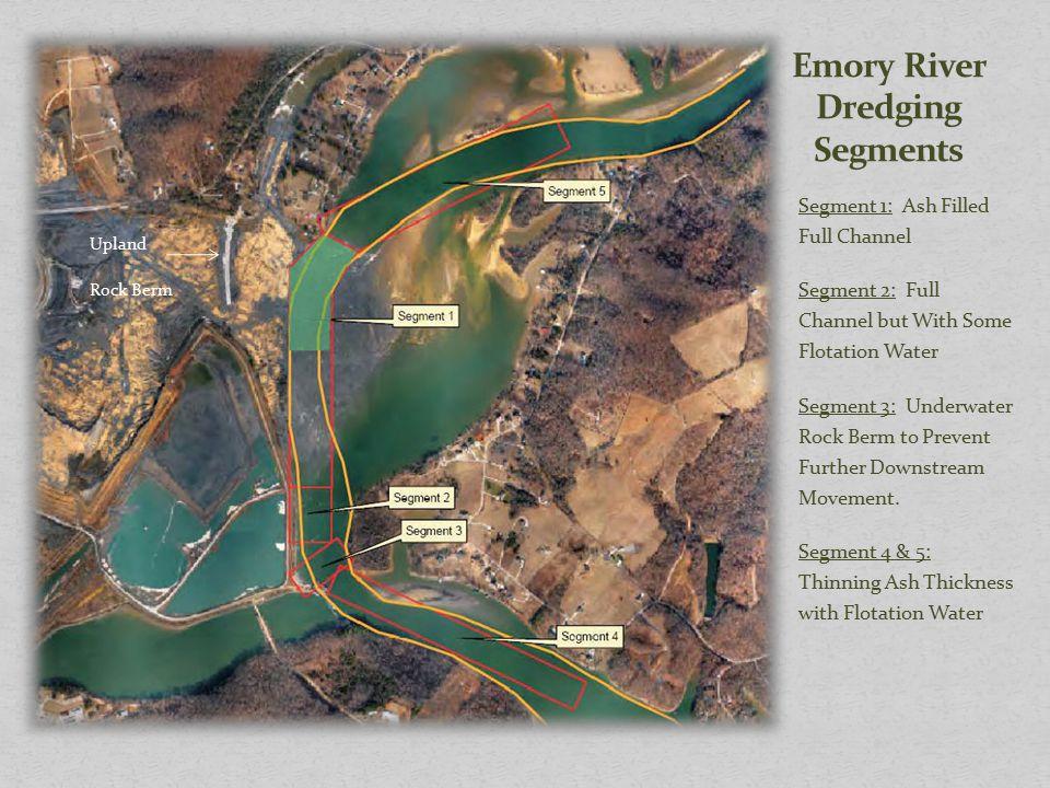 Emory River Dredging Segments