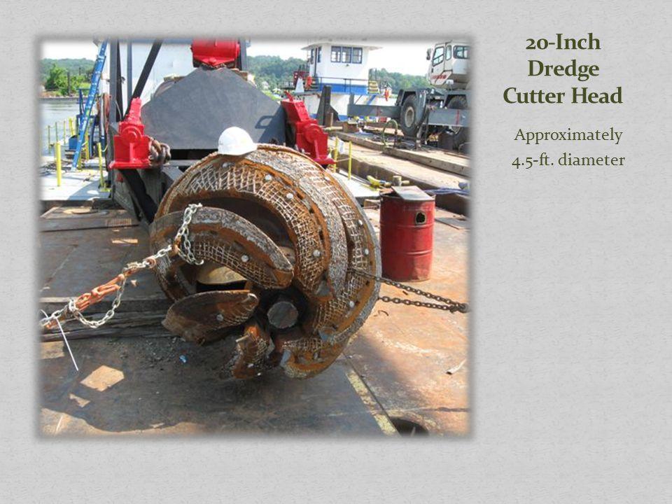 20-Inch Dredge Cutter Head