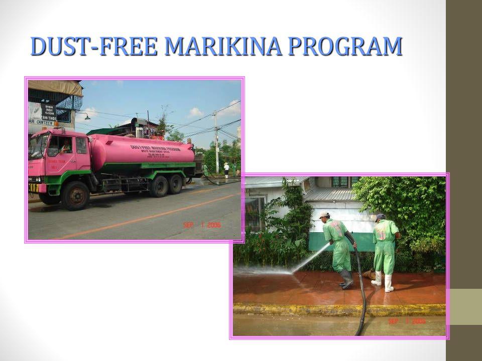 DUST-FREE MARIKINA PROGRAM