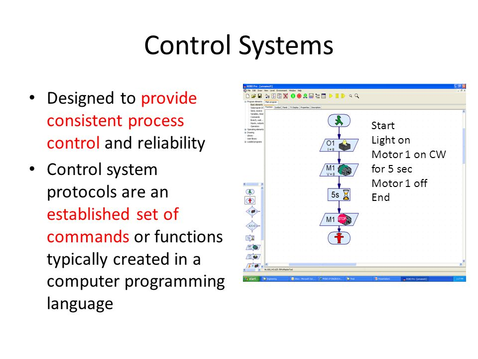 Control Systems Designed to provide consistent process control and reliability.