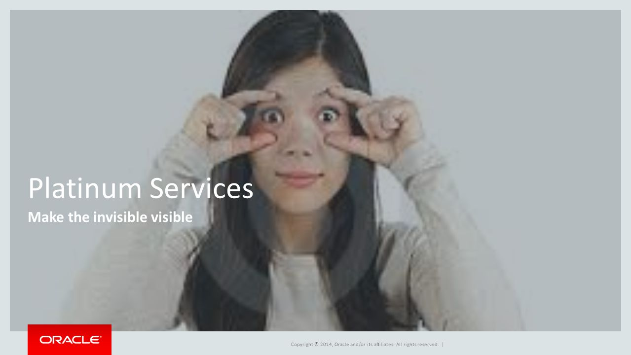 Platinum Services Make the invisible visible