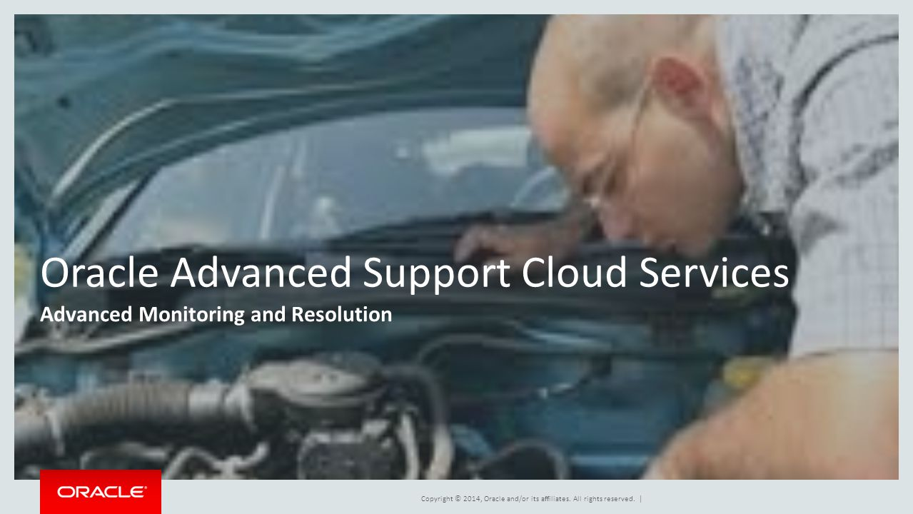 Oracle Advanced Support Cloud Services