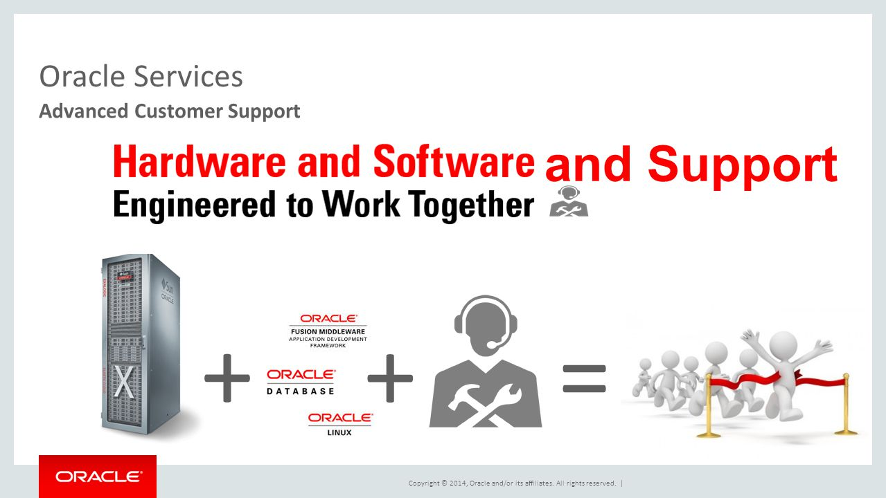 Oracle Services Advanced Customer Support and Support + + =
