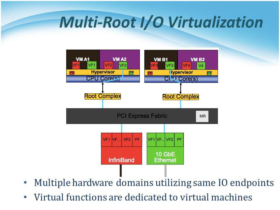 Multi-Root I/O Virtualization