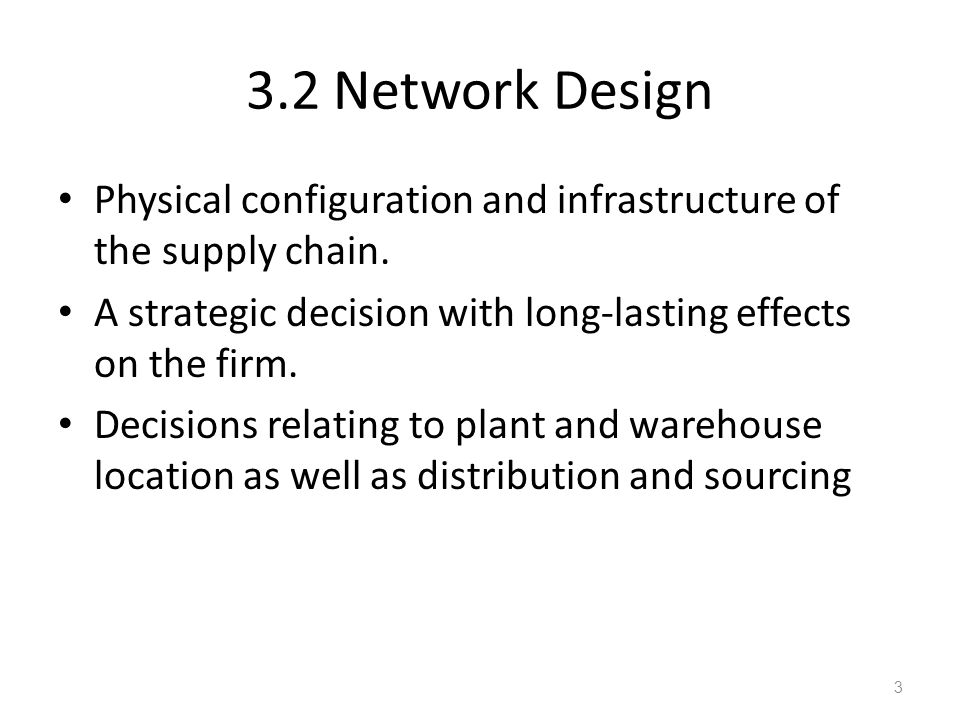 2 how do facility location decisions differ for service facilities and manufacturing plants We then discuss different choices  as the number of facilities in a supply chain  increases, the inventory and resulting inventory costs also increase as  2 will  product flow through an intermediary (or intermediate location)  facility and  processing costs for the manufacturer and the retailer are as in drop shipping.