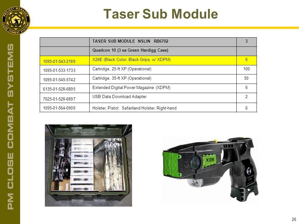 Taser Sub Module TASER SUB MODULE NSLIN RB6702 3