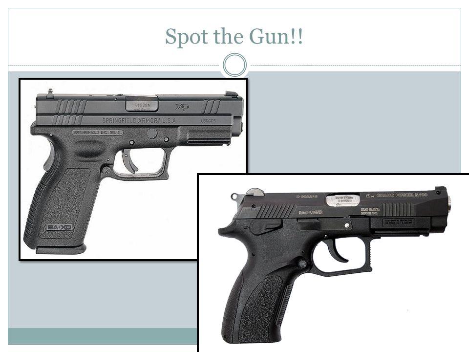 Spot the Gun!!