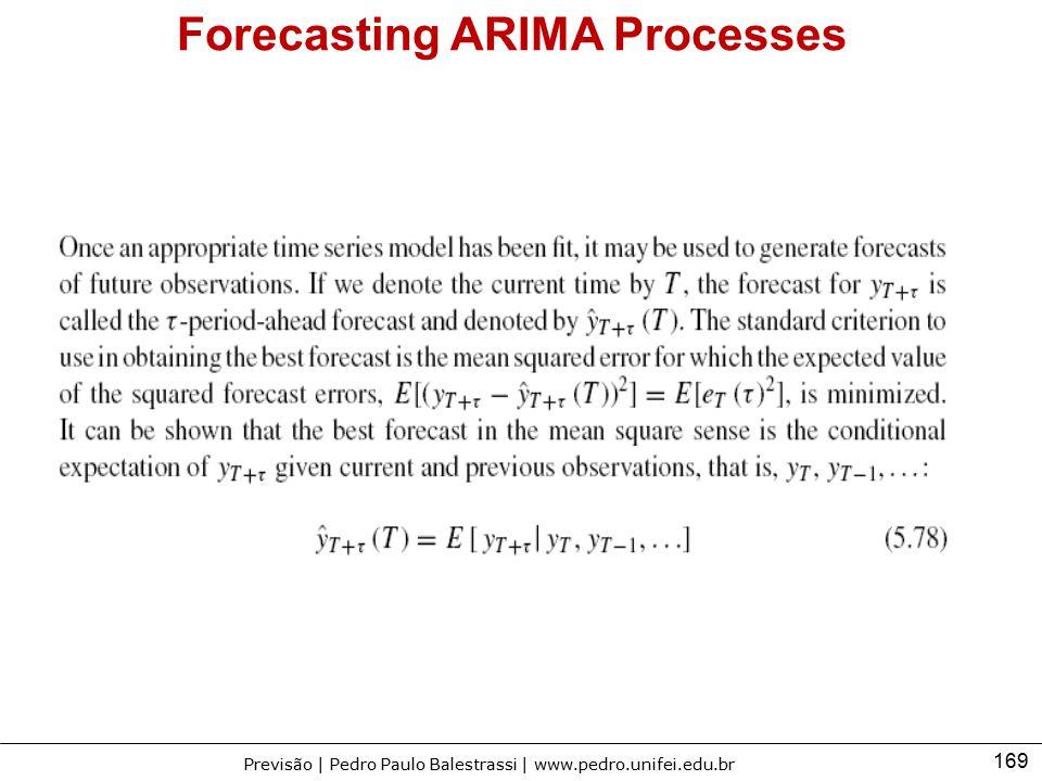 Forecasting ARIMA Processes