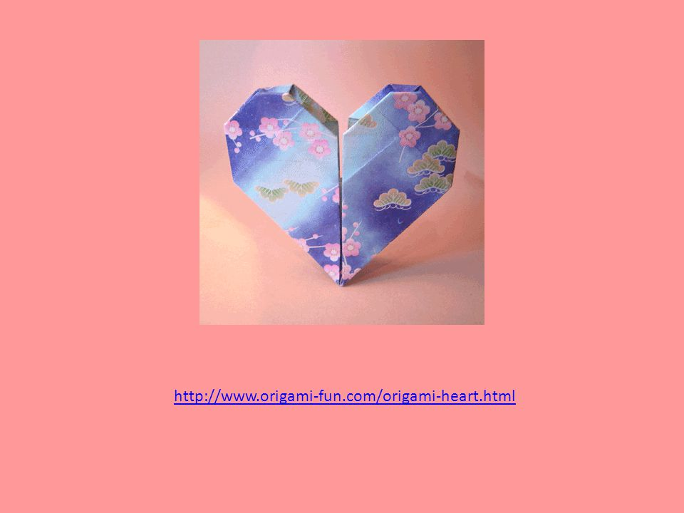 http://www.origami-fun.com/origami-heart.html