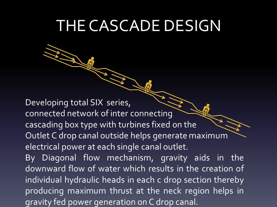 THE CASCADE DESIGN Developing total SIX series,