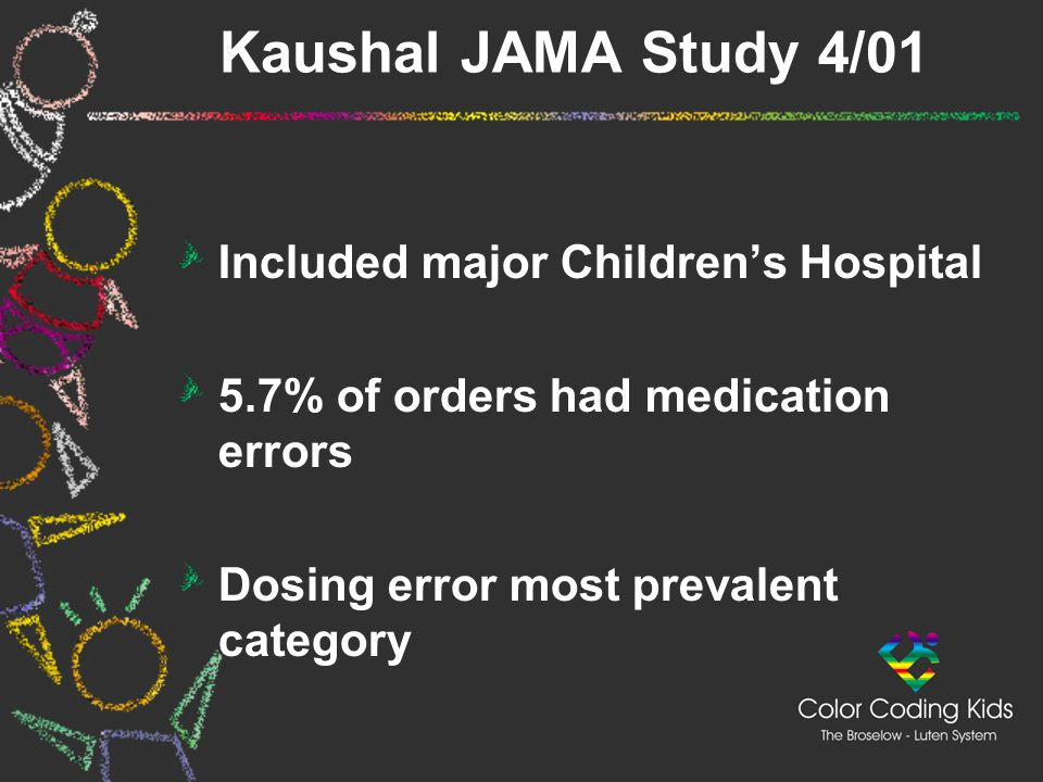 Kaushal JAMA Study 4/01 Included major Children's Hospital