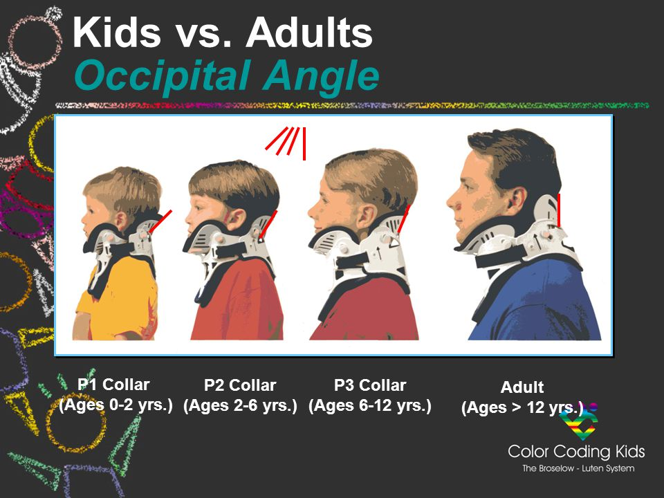 Kids vs. Adults Occipital Angle